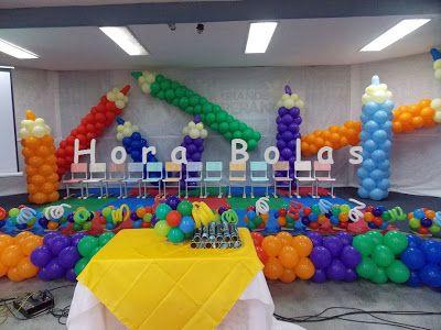 8212331026 Hora Bolas - Decoração com Balões Infláveis