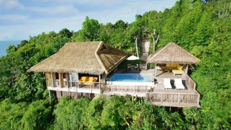 Ocean Panorama Pool Villa im Six Senses Yao Noi, Thailand - zu schön, um wahr zu sein? Flitterwöchler genießen hier maximale Privatsphäre.