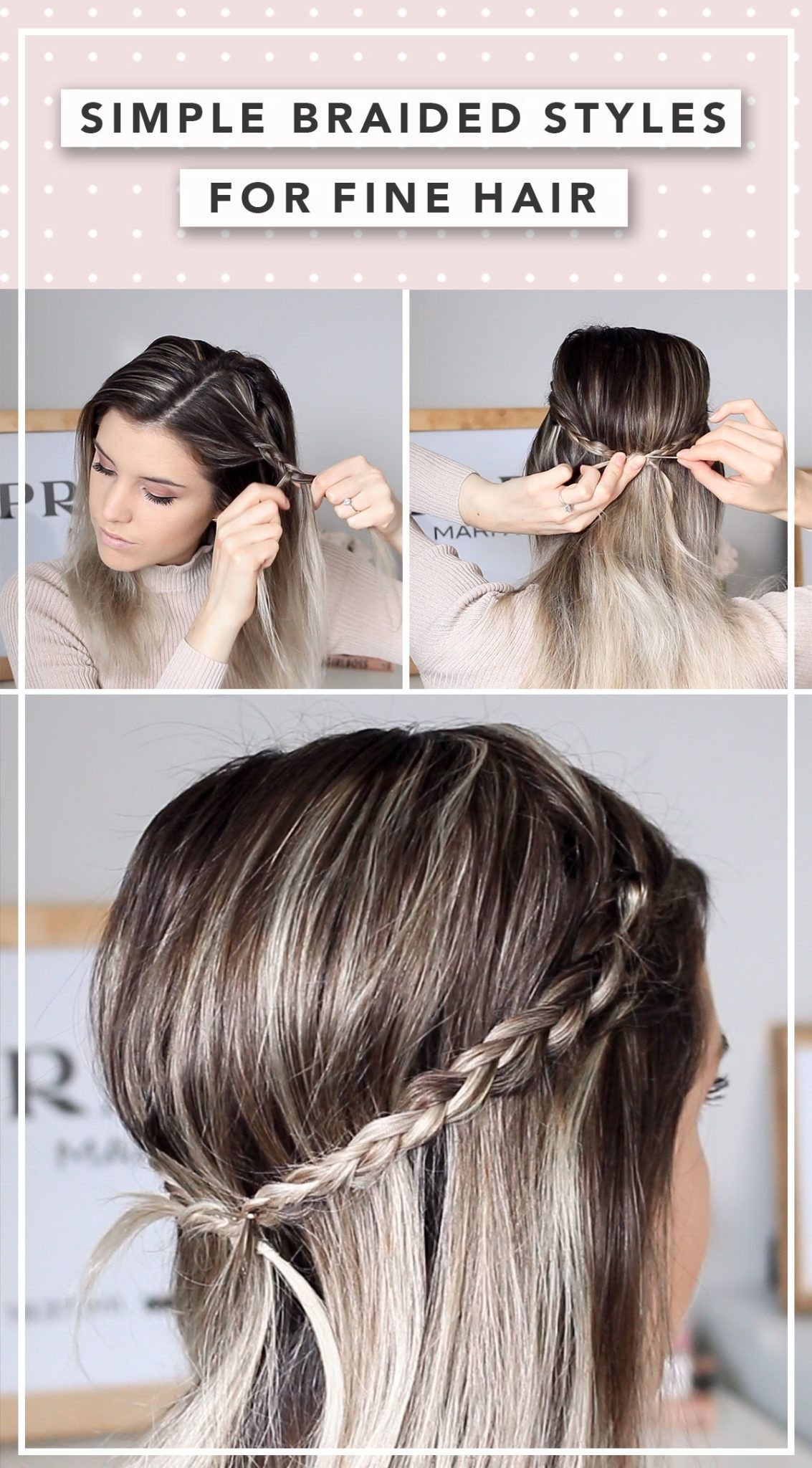 Second Day Hairstyle Ideas To Try Today Erin Elizabeth Ca Second Day Hairstyles Fine Hair Updo Hair Styles