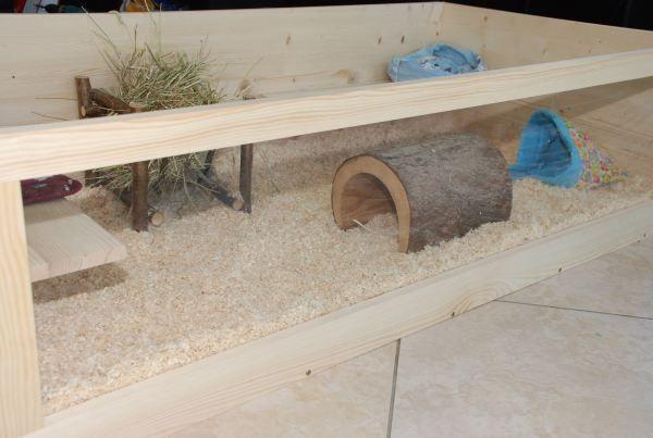 Meerschweinchen Gehege Eigenbau Meerschweinchen gehege