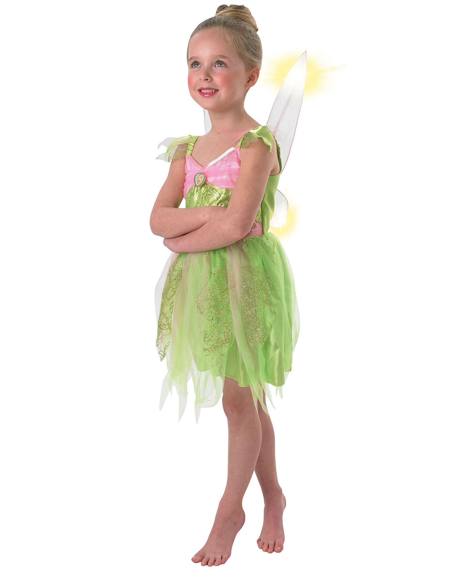 2858aabc190f1 Tinkerbell Kostüm Mädchen grün-rosa | Feen | Tinkerbell kostüm, Fee ...