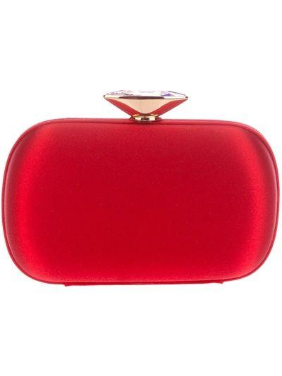 8b3b7674f Giuseppe Zanotti Design Clutch Vermelha. | Bags | Red clutch ...