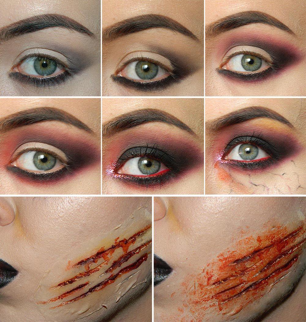 halloweenmakeup fxmakeup horrormakeup scarymakeup