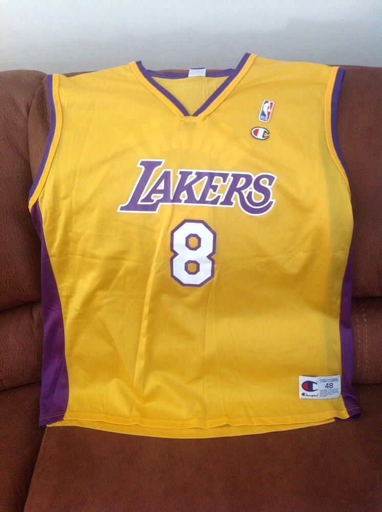 7cf7fb07a461 Vintage champion kobe Bryant  8 los Angeles Lakers nba jersey size ...
