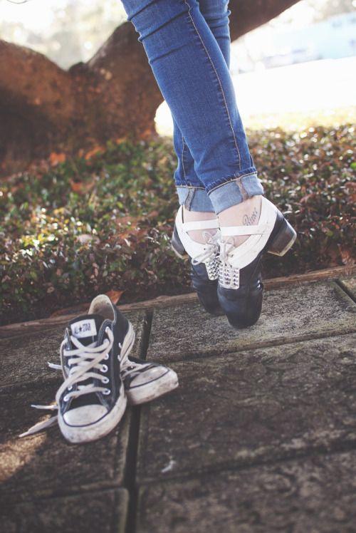 edd98f101eda46 Irish Dance Hardshoe Toe Stand with Converse