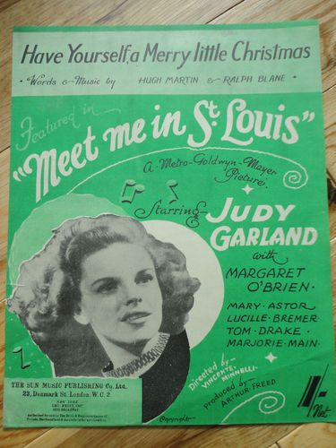 Vintage Christmas Song Judy Garland Have Yourself A Merry Little Christmas From Meet Me I Christmas Music Videos Christmas Movies Favorite Christmas Songs