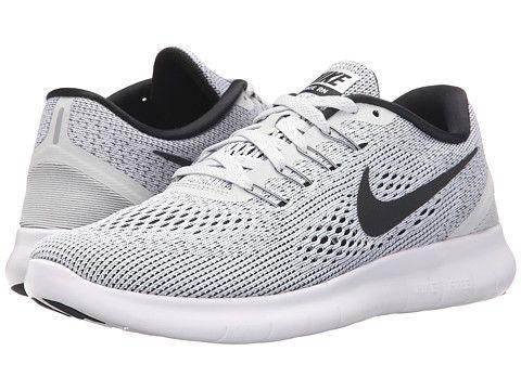 0b8f243fbf8d6 Nike Free RN White Black - Zappos.com Free Shipping BOTH Ways ...