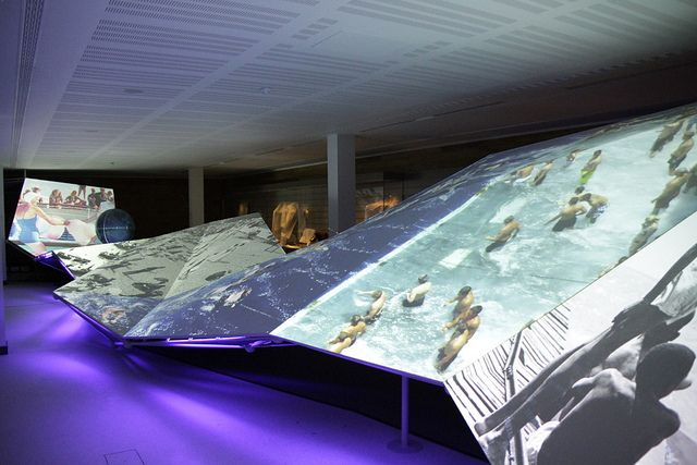 """Voyagers"" is a permanent audio video installation by The Light Surgeons for the National Maritime Museum"