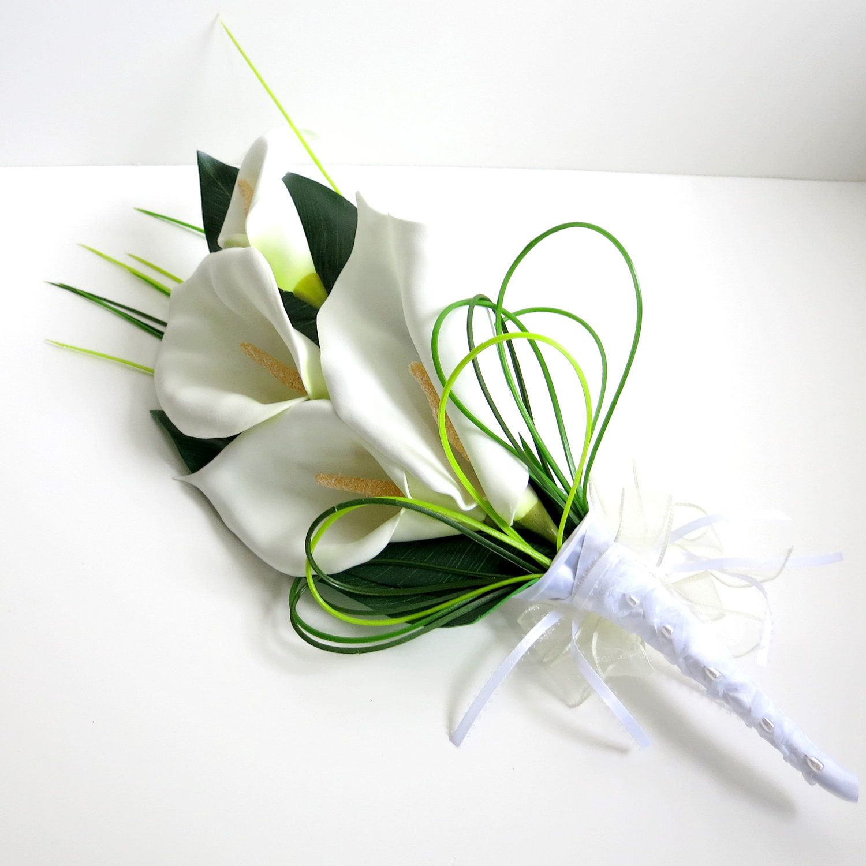Clearance bridal bouquet silk bouquet faux bouquet clearance bridal bouquet silk bouquet faux bouquet artificial bouquet arm bouquet calla lily bouquet izmirmasajfo Image collections