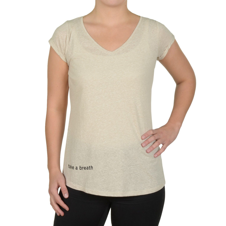 913e2df7d9518e Tom Tailor Denim Basic Damen T-Shirt Khaki