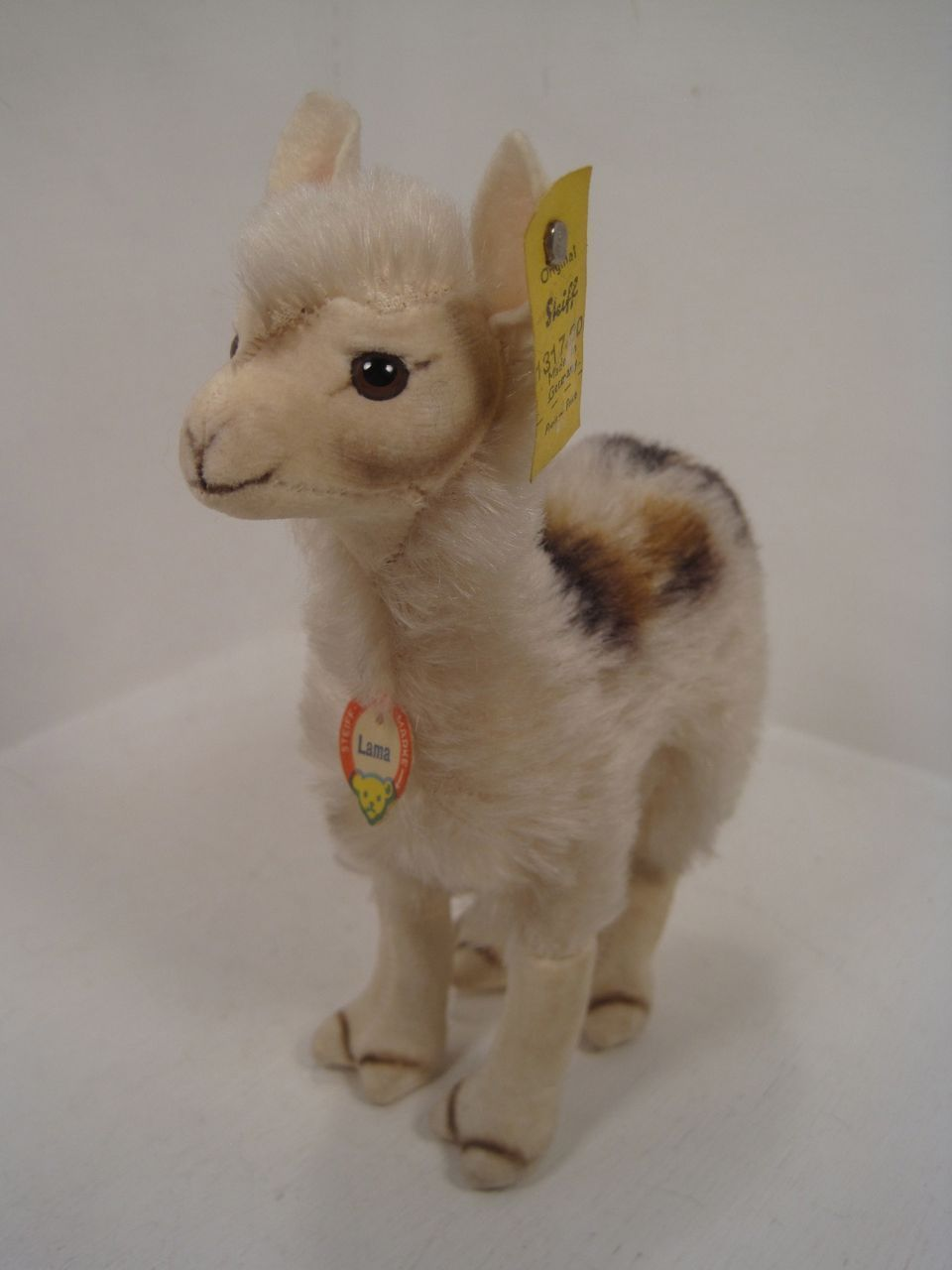 Steiff's Smallest Llama in Like New Condition With All IDS