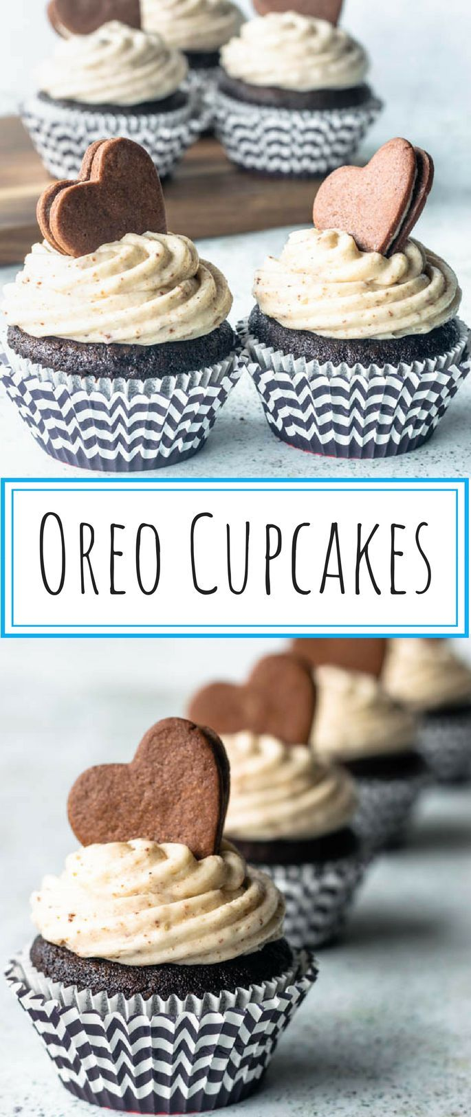 Oreo Cupcakes - Cookies and Cream Cupcakes Oreo Cupcakes - Pies and Tacos