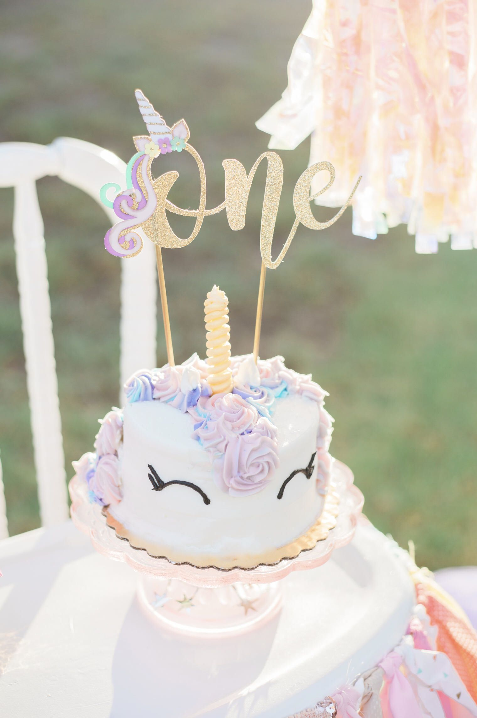 Excited To Share The Latest Addition My Etsy Shop Unicorn First Birthday Cake