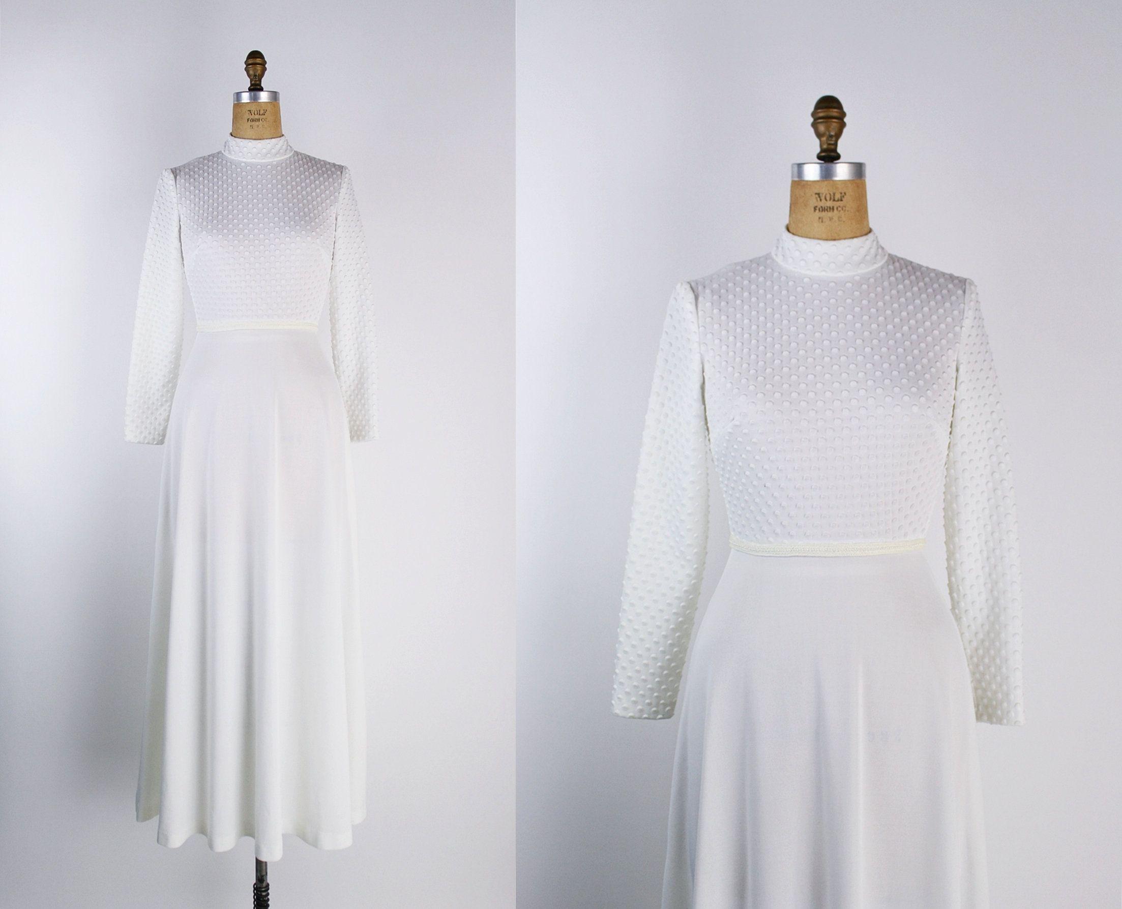 Vintage 70s White Wedding Maxi Dress White Disco Dress Etsy Maxi Dress Wedding Disco Dress Dresses [ 1788 x 2206 Pixel ]