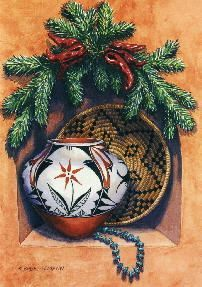 Southwestern Christmas Ornaments