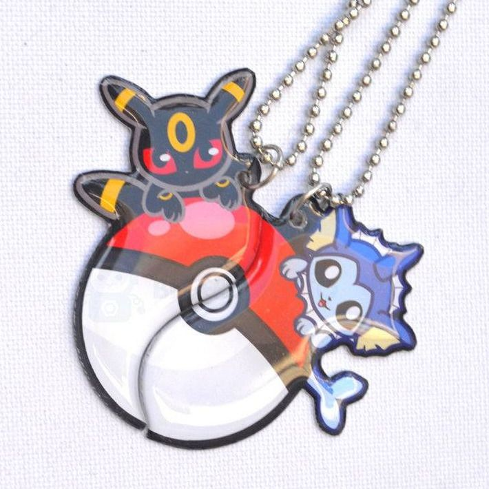 Pokemon Friendship Charms made by BlueRobotto -