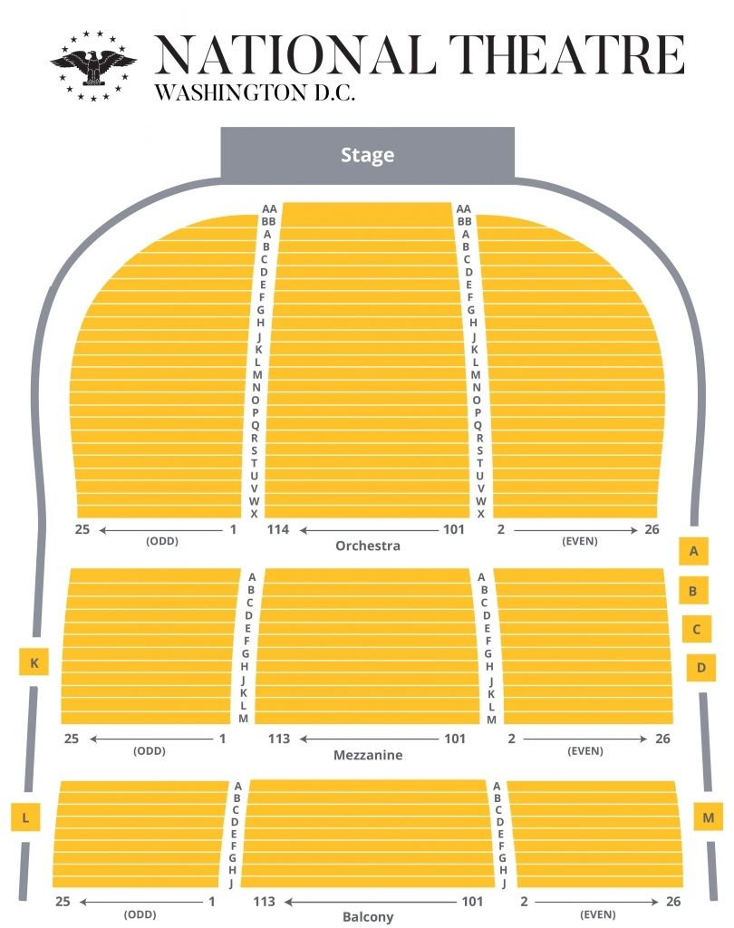 The Amazing National Theater Seating Chart In 2020 National Theatre The Last Ship Theater Seating