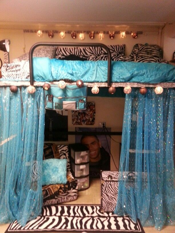 Decorating Ideas > Curtains Could Def Be Cute!!! If We All Loft Our Beds  ~ 121707_Dorm Room Space Saver Ideas