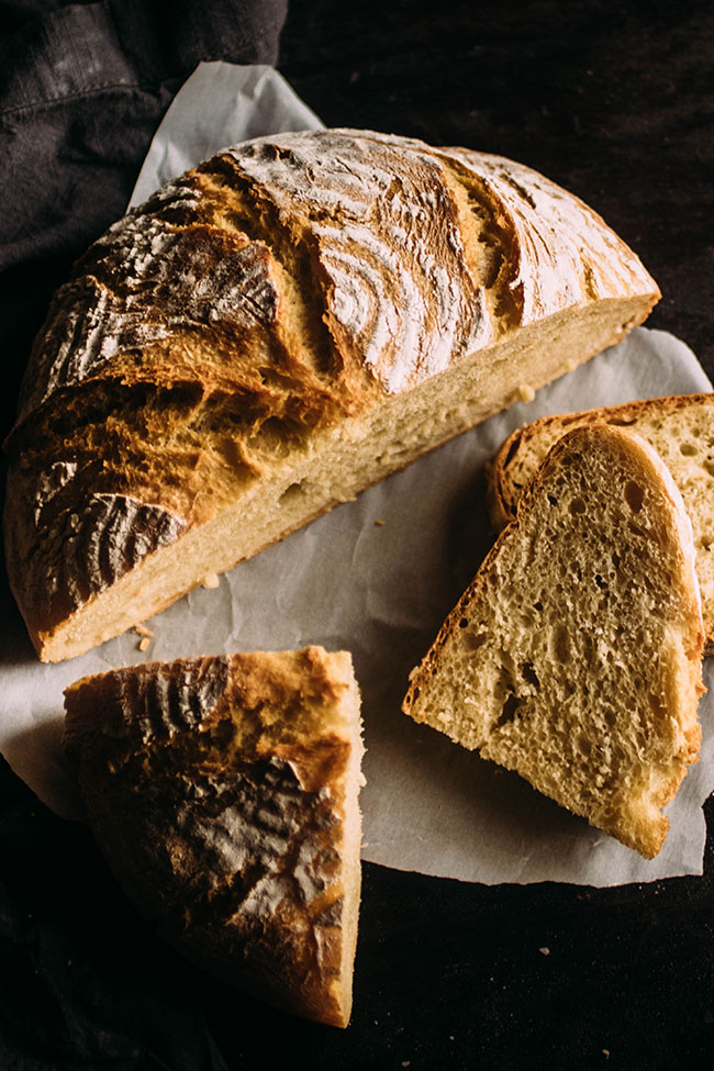 Easy Crusty French Bread   Recipe (With images)   Homemade ...