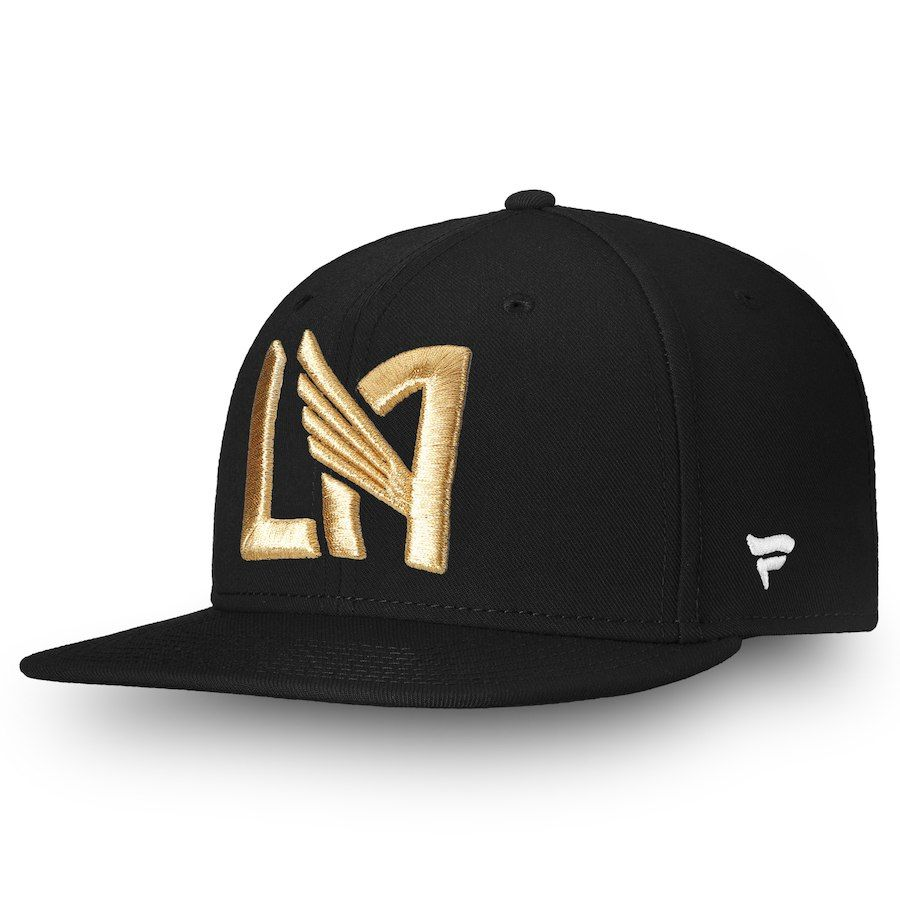 brand new a0f91 ca1e7 Men s LAFC Fanatics Branded Black Primary Emblem Snapback Adjustable Hat,  Your Price   23.99