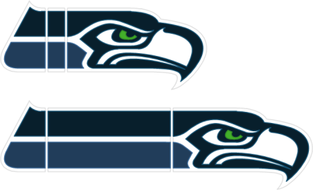 seahawks visio logo split parts png 452 275 seahawks shirt rh pinterest co uk seahawks logo stencil template