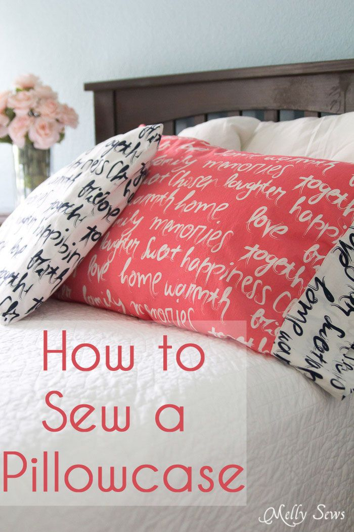 How To Sew A Pillow Cover Impressive Charity Pillowcases  Sew A Pillowcase With Happy Home Fabrics 2018