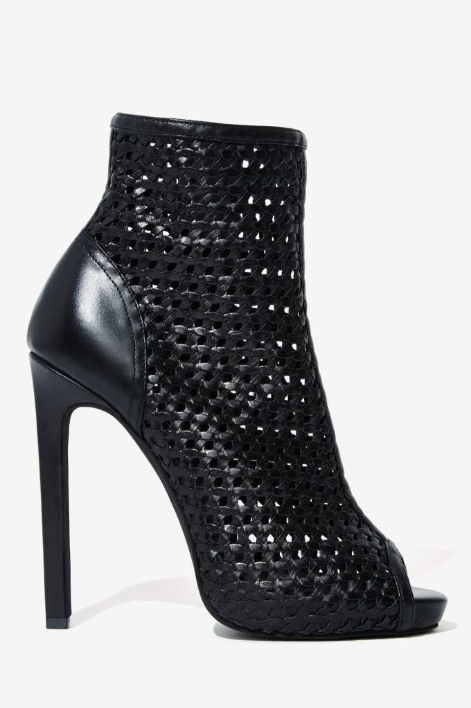 Shop New Scandal Campbell What's Jeffrey Bootie Leather at Gal Nasty qFTaU6