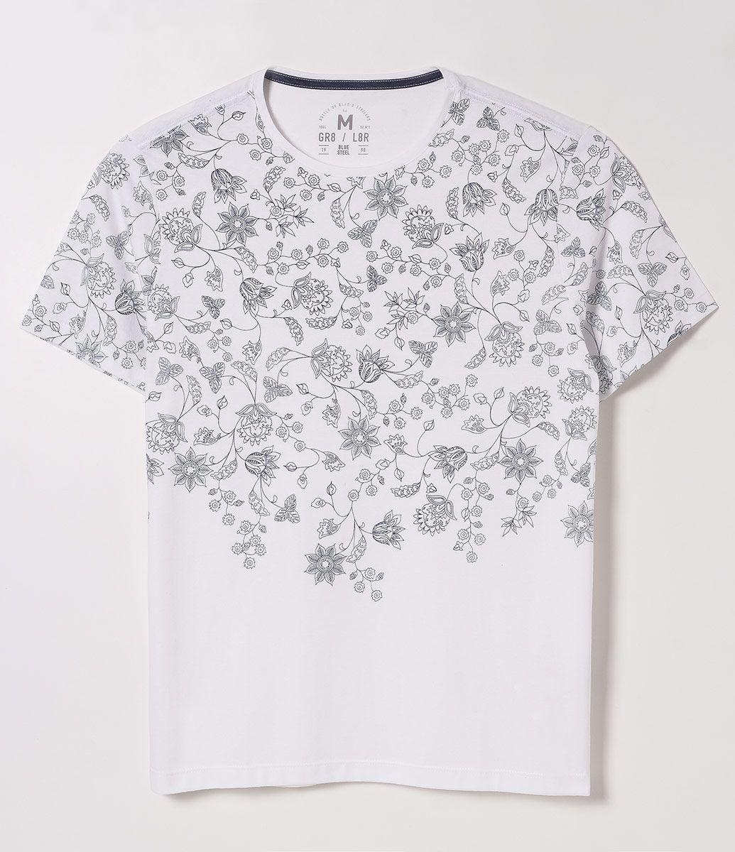 Camiseta Floral c5a41e5d2a55f