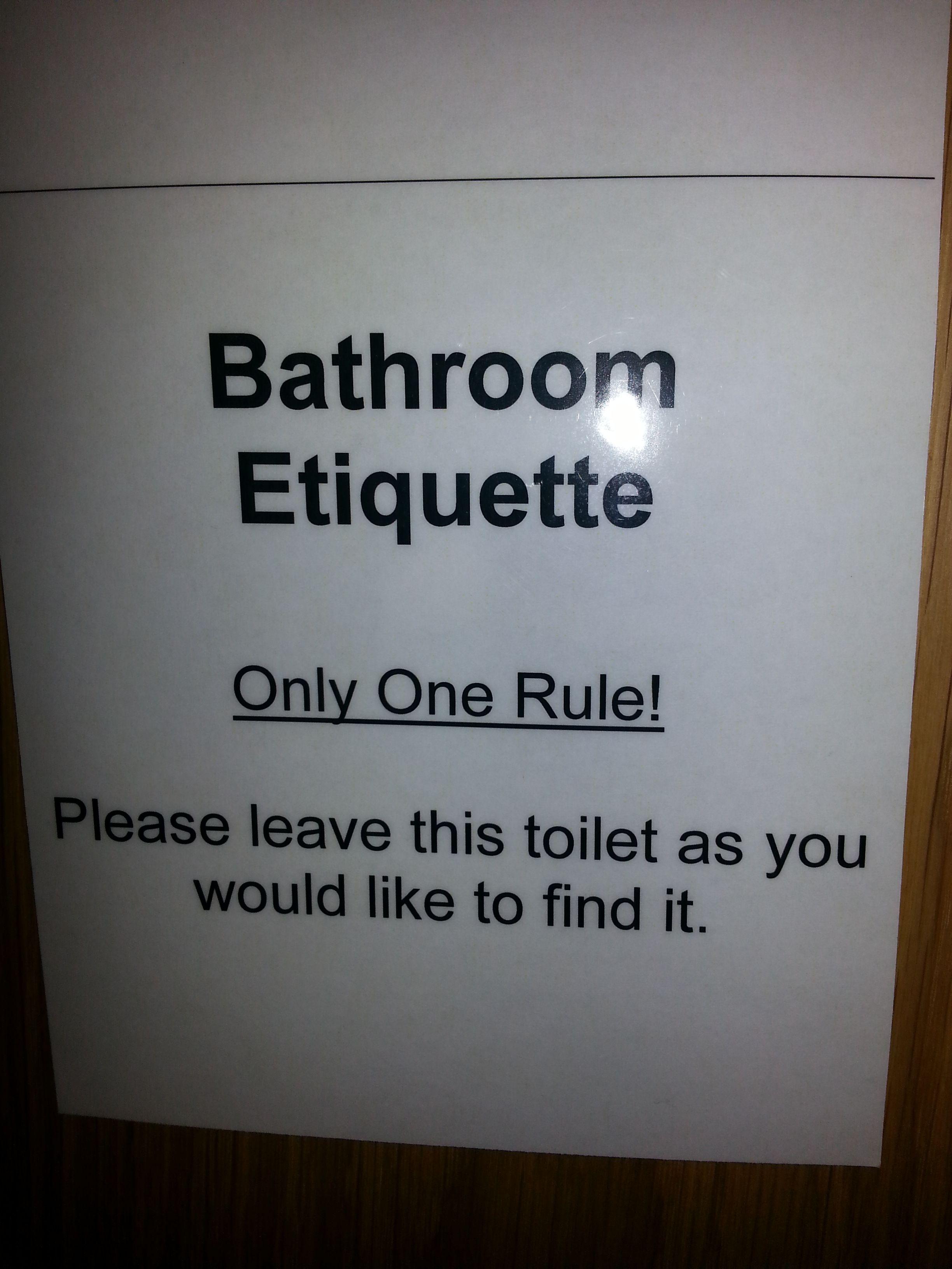 Bathroom Etiquette latest posts under: bathroom etiquette | try me! | pinterest