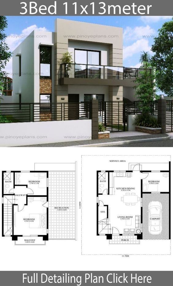 22 House design with floor plans you will love Simple Design House