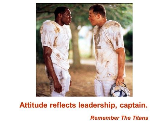 """leadership essay remember the titans """"remember the titans' is about a local high school football team overcoming racism, prejudice and discrimination towards each other and the community, all while participating in a football season."""