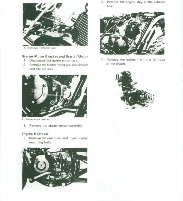 1983 1986 Yamaha Atv Yfm200 Moto 4 200 Service Manual Yamaha Atv Manual Pdf Download