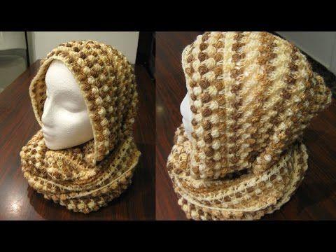 5 Capuchas para Tejer con Ganchillo / Tutoriales | Todo crochet ...