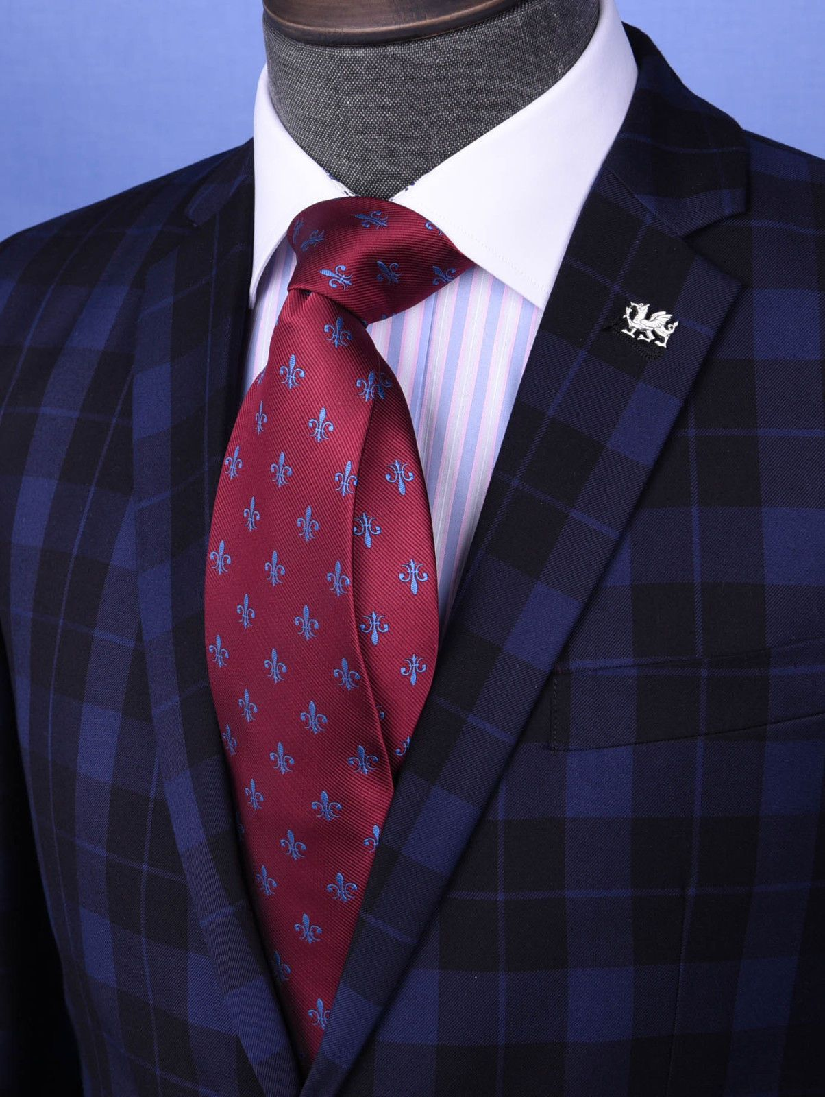 Silk Ties Mens Fleur-de-lis Necktie | Etsy in 2020 | Ties