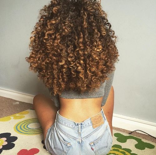 perfekt afrikansk blond