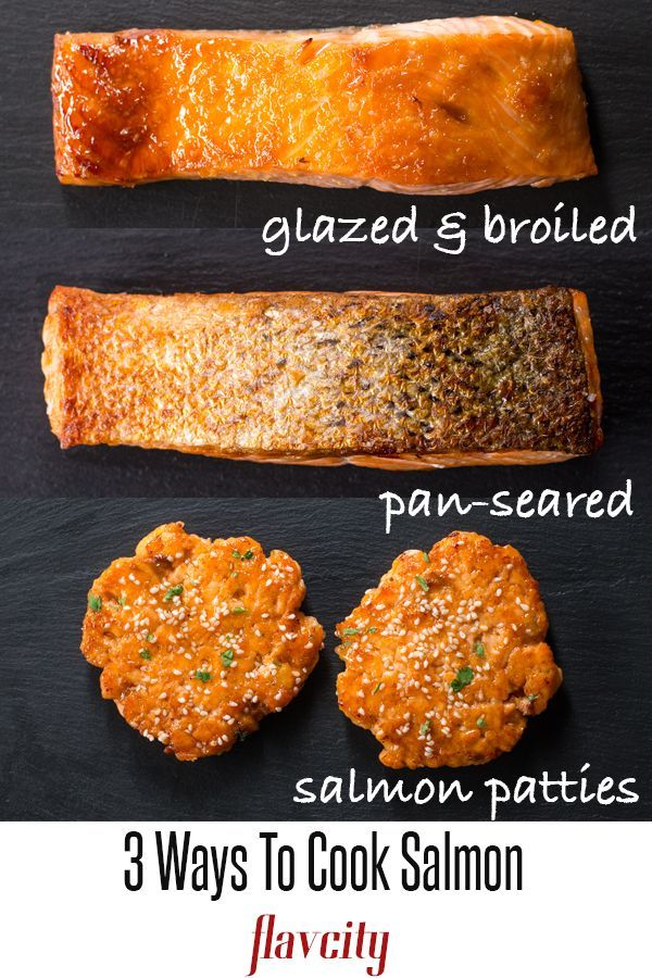 First up is Asian salmon patties seasoned with ginger, fresh herbs, and coated in a sweet and sticky glaze. Next up is pan-seared salmon with the most crispy skin ever, and finally broiled salmon with a brown sugar glaze. #salmonrecipes #howtocooksalmon #broiledsalmon #salmonpatties #salmonrecipes