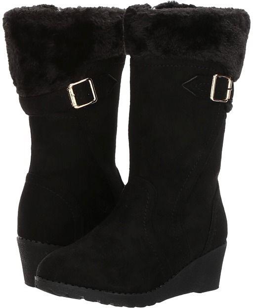 girls boot wedges