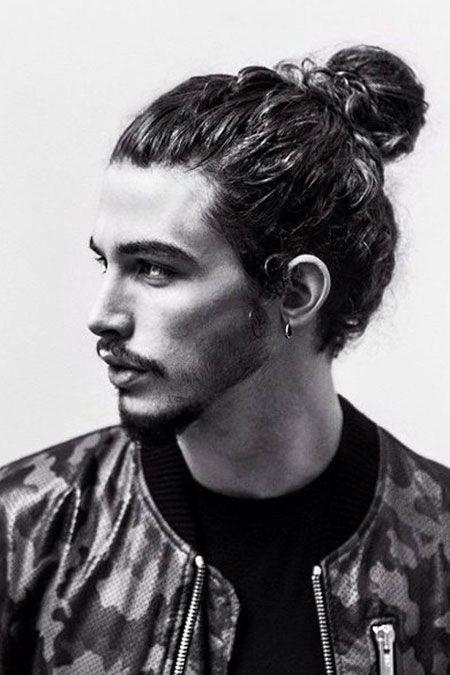 Lange haare manner styling