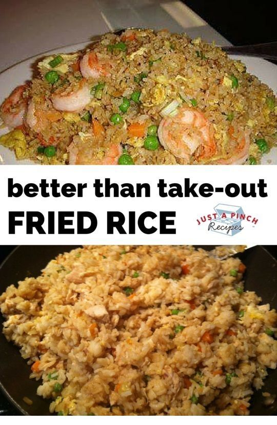 Chinese | Better Than Take-Out Fried Rice is Tasty !!! You must see the complete recipes.