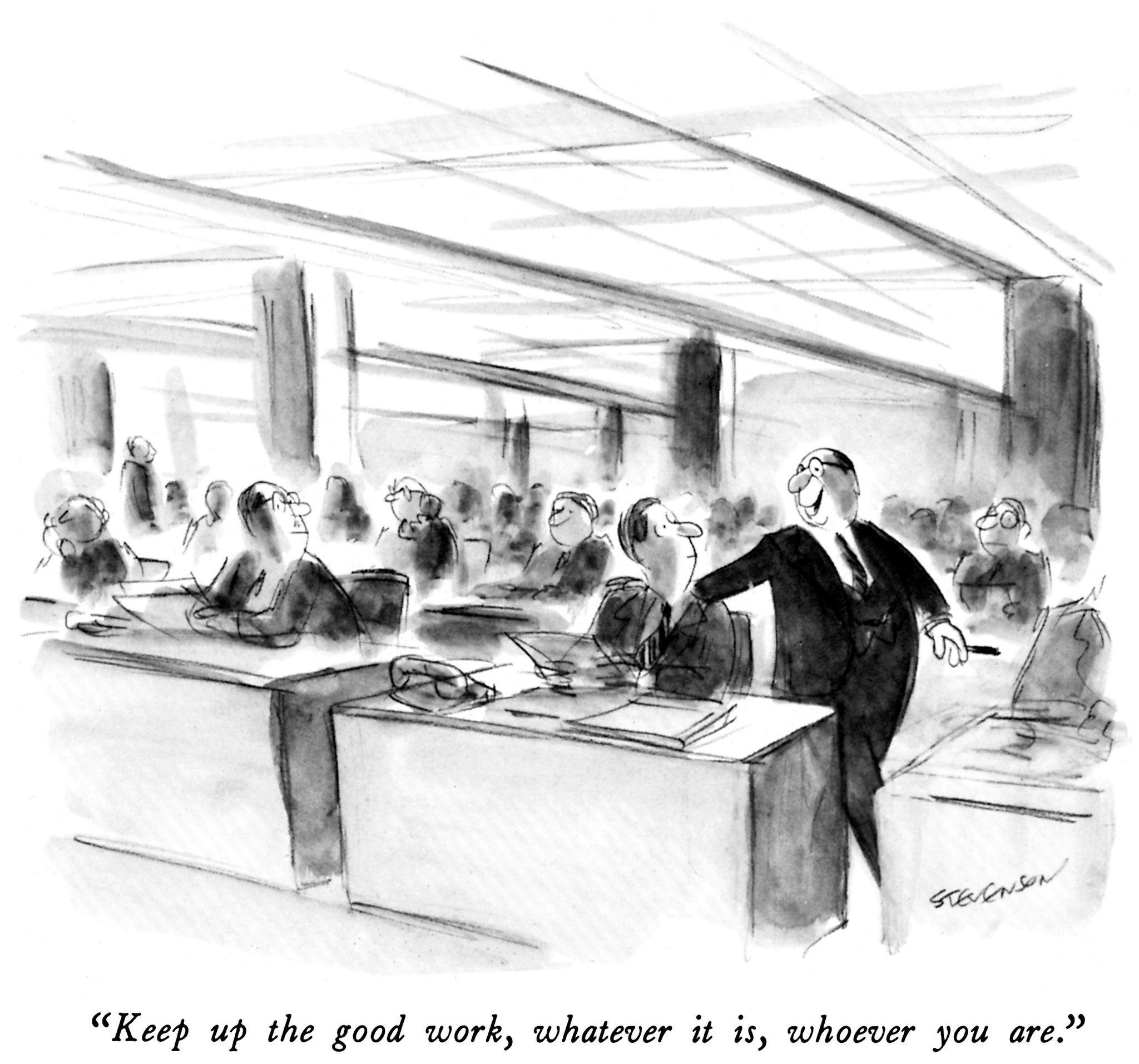 11 New Yorker Cartoons by James Stevenson | Comic | Pinterest ...