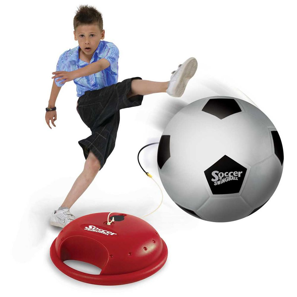 Mookie Swingball Reflex Soccer Soccer skills, Soccer