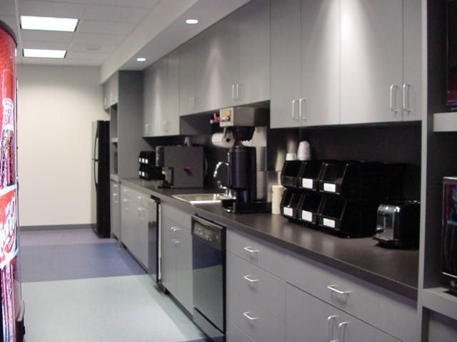 Break room ideas kitchen commercial office break room for Office kitchen design