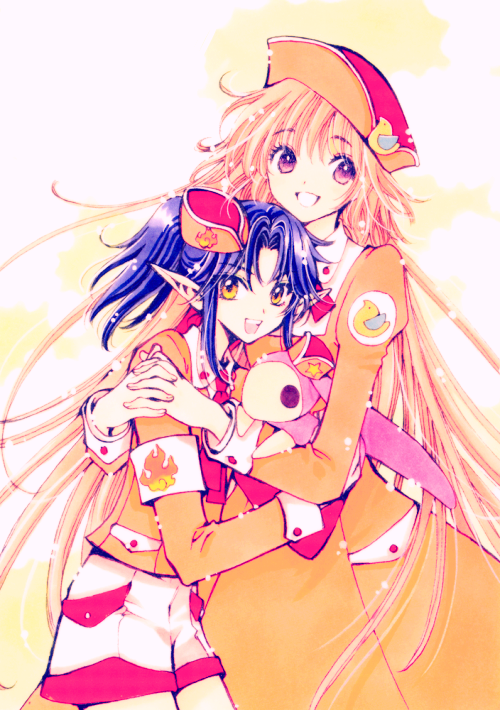 favorite clamp images ♥ crossover: rg veda + kobato