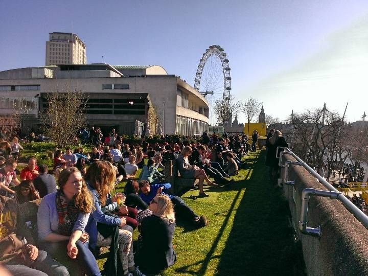 Southbank Centre Roof Garden Cafe Amp Bar Nel South Bank Greater London Roof Garden Cafe Bar Garden