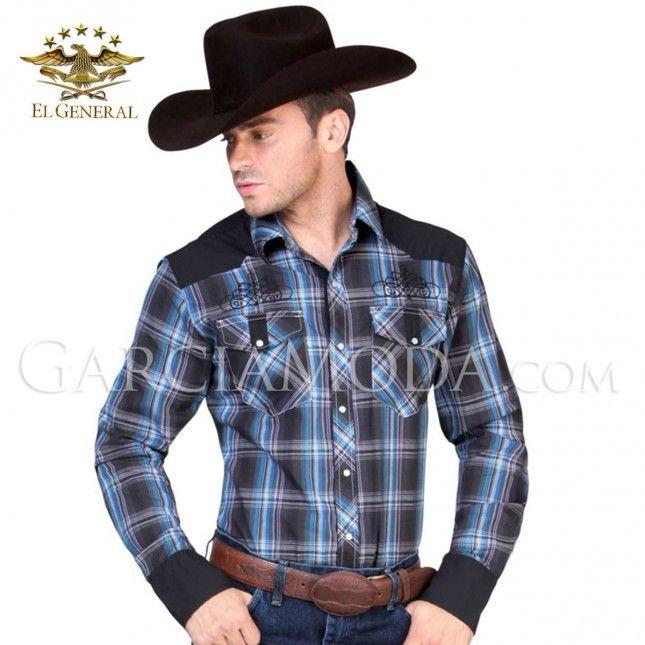 Camisa El General Western Wear 122315 Vaquero Western
