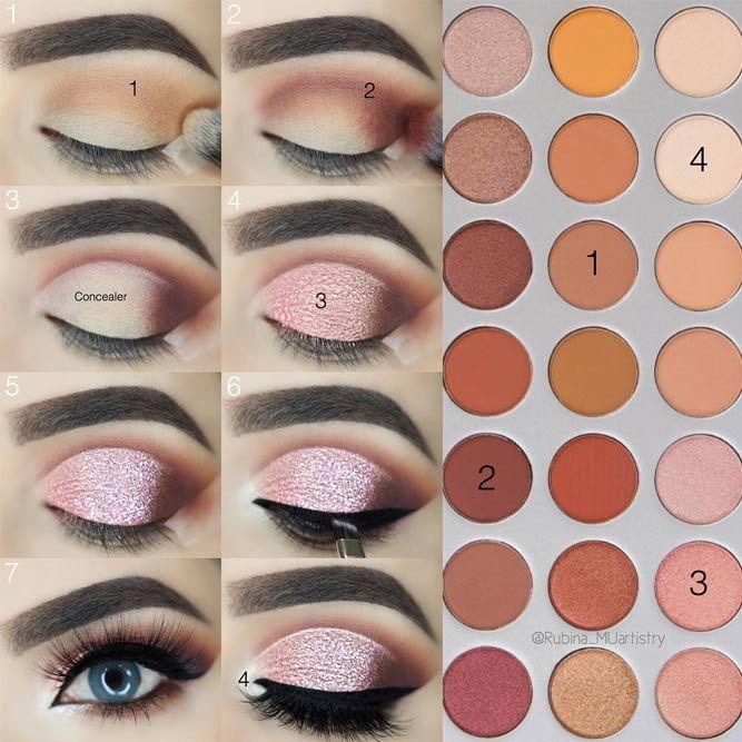 Learn How To Apply Eyeshadow Professionally Applying Eyeshadow