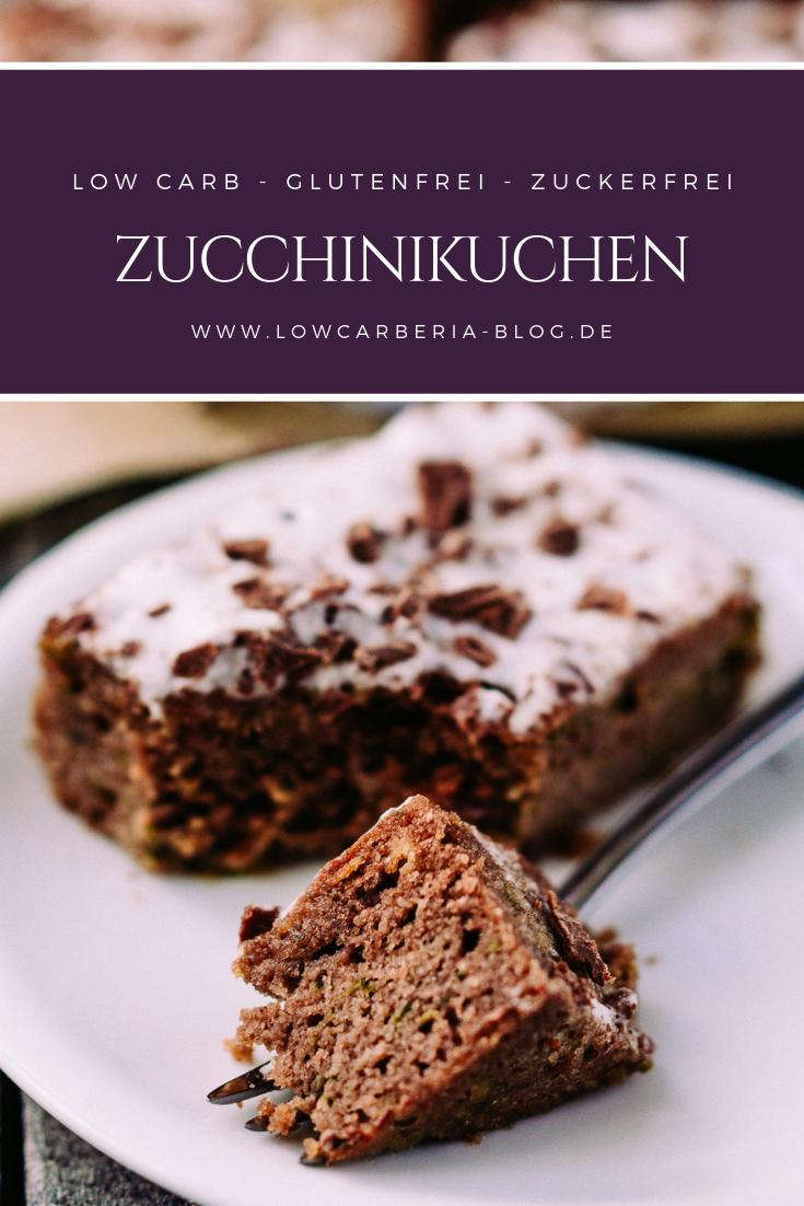 Low Carb Zucchinikuchen Rezept Backen Ohne Mehl Zucchini Kuchen Rezepte
