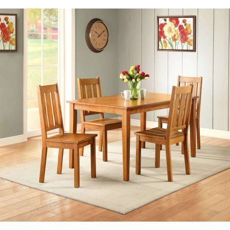 Dining Table, Honey Finish, Kitchen and Dining Room Furniture, Seat