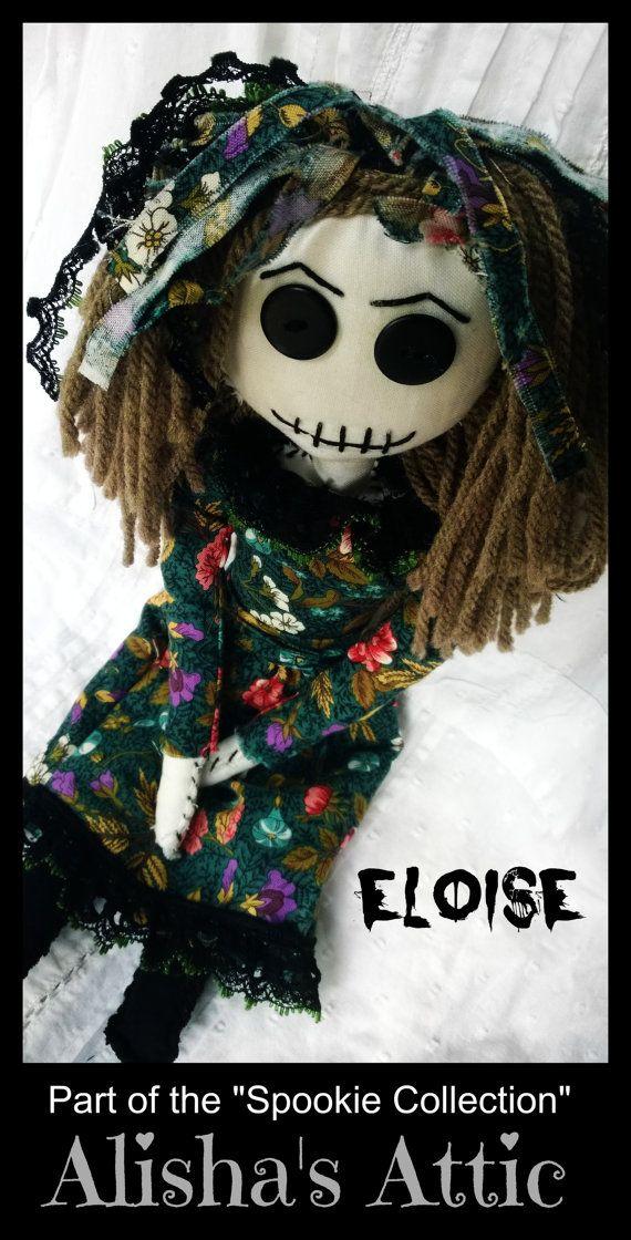 Eloise  from Spookie's Army. Handmade Gothic by AlishasAtticShop