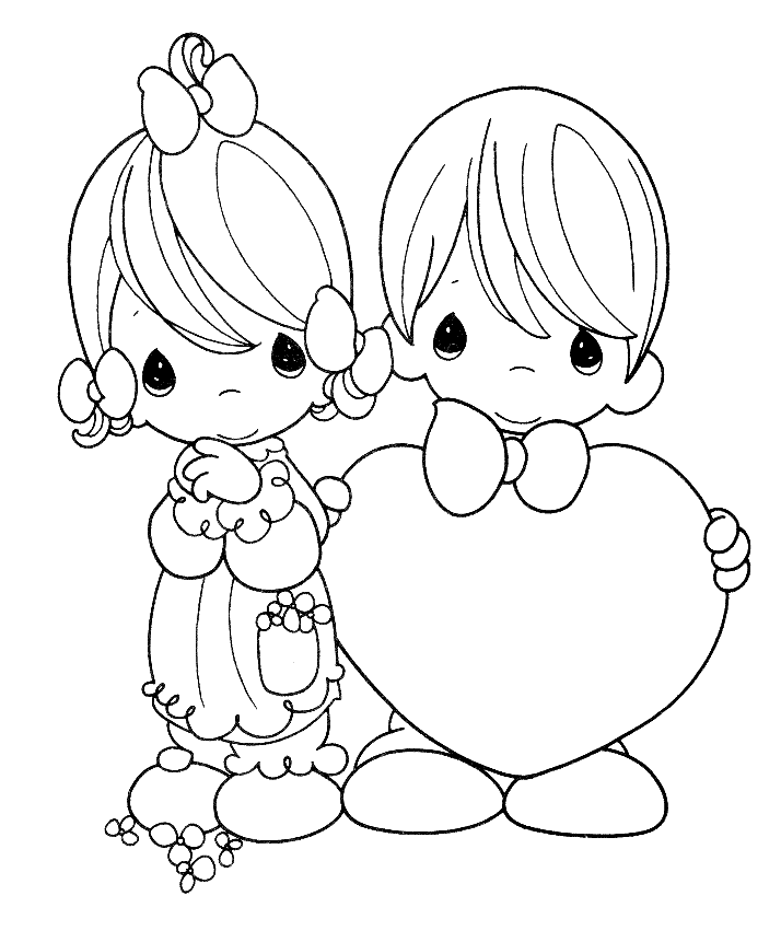 Free Printable Precious Moments Coloring Pages For Kids Precious Moments Coloring Pages Valentines Day Coloring Page Coloring Pictures